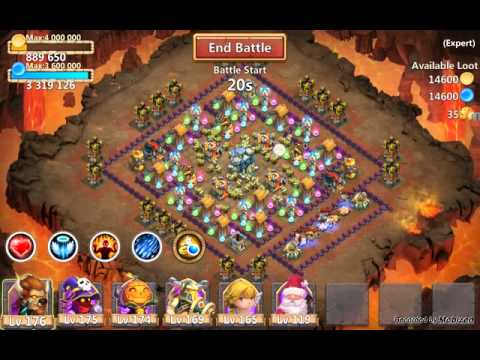 Castle Clash - Elite Dungeon Area 5
