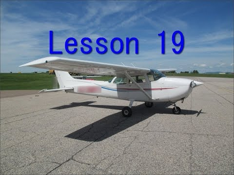 Private Pilot lesson 19 (first solo)