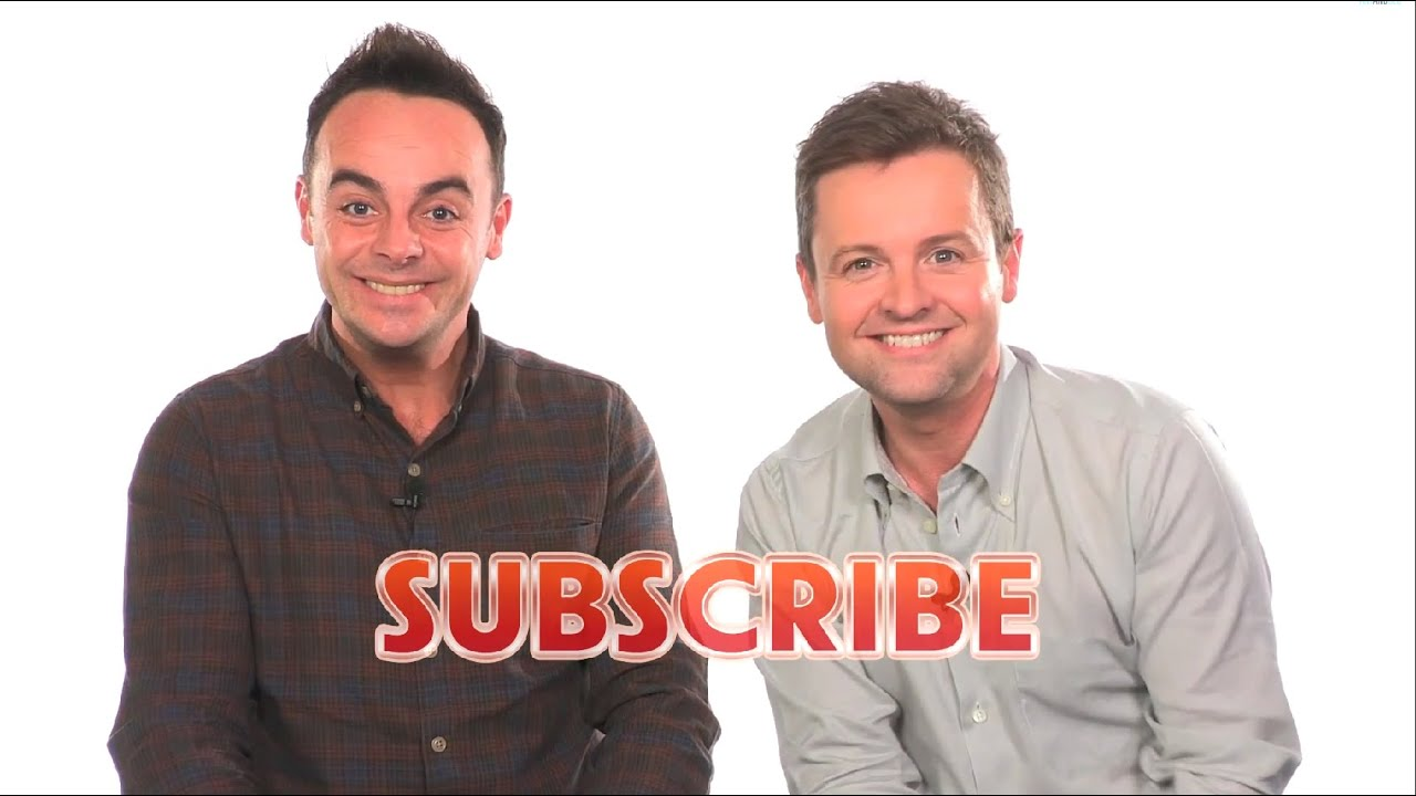 Welcome to Ant & Dec on YouTube