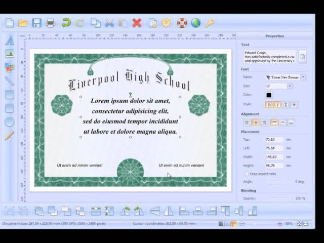 image relating to Printable High School Diplomas named How in direction of produce and print Significant Faculty Degree