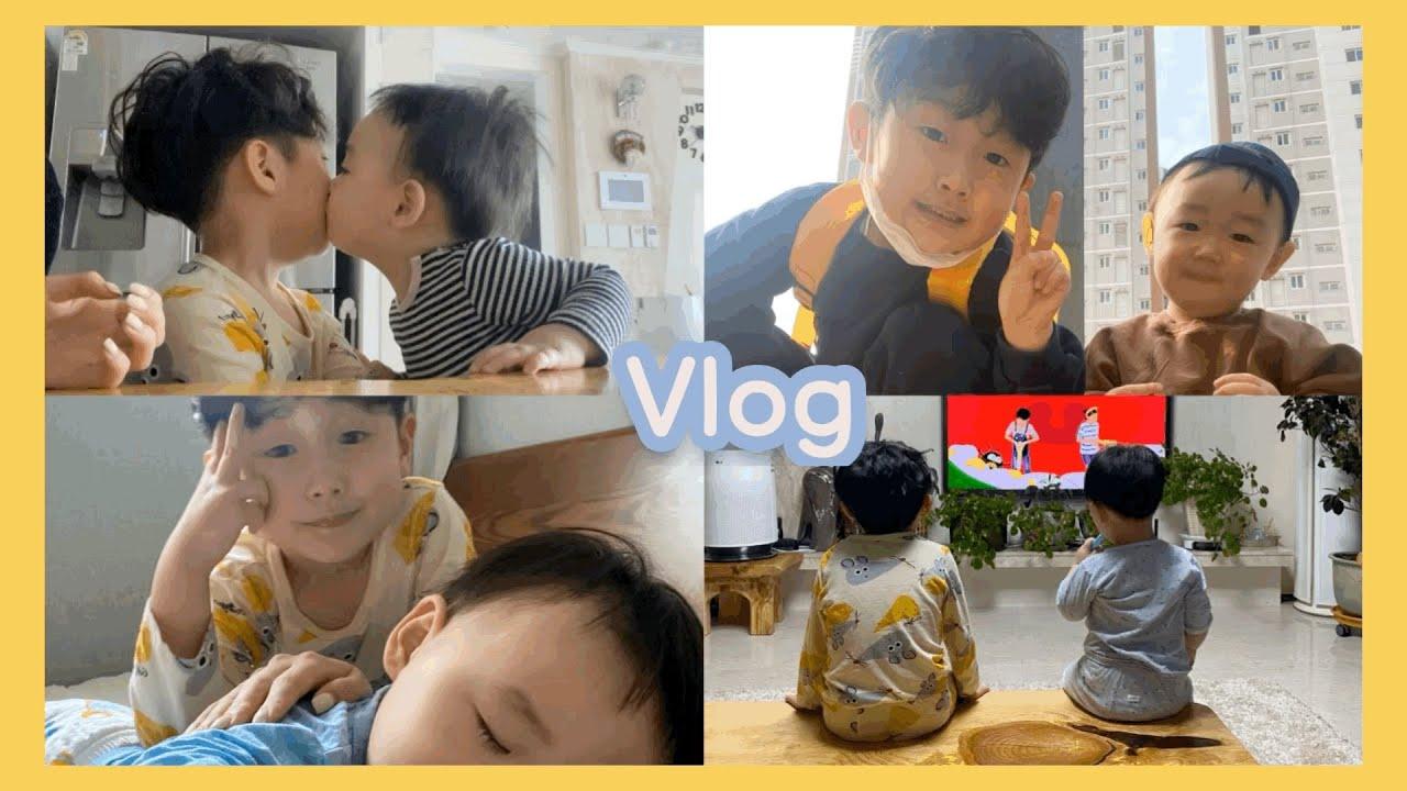 [론니 vlog] 육아브이로그 / 애둘독박육아 / 이모브이로그 / 조카바보