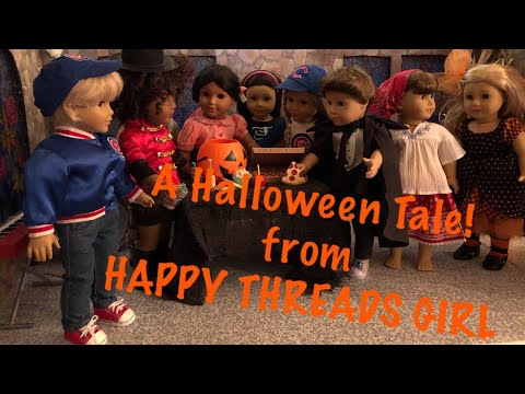 A Halloween Tale from Happy Threads Girls