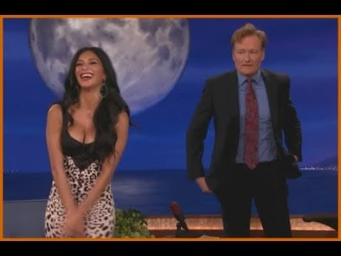 conan o brien funny moments with female guests youtube