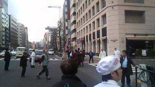 11.3.11 地震の瞬間 東京四谷 新宿通り
