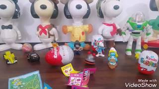 Sürpriz Yumurtalar /Most different and nice toys opening /Snoopy Pixar Disney Smurf /Surprise Eggs