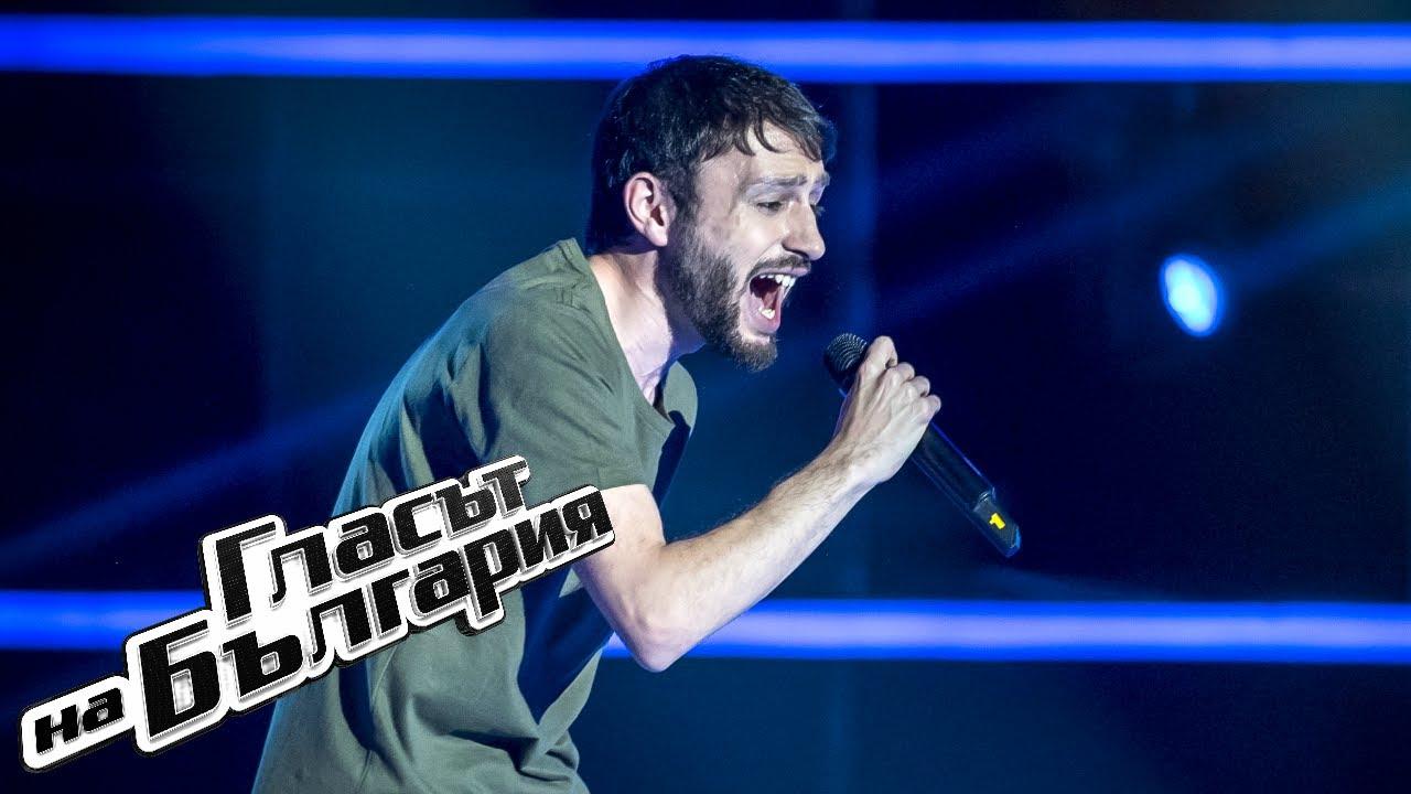 Сергей Вардеварян - Show Me How To Live | Кастинги на тъмно | Гласът на България 2019