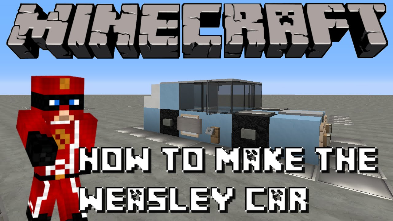 Minecraft How To Build The Weasley S Flying Car