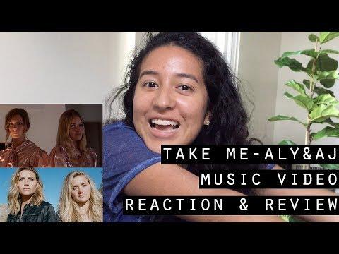 Take Me  Aly & AJ music  reaction  Ylena Radford
