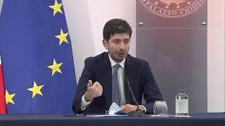 Conferenza stampa del Consiglio dei Ministri n.36