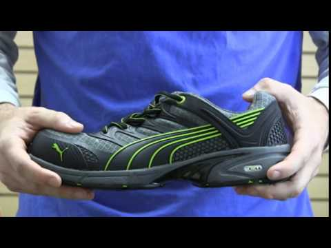 0eb874a5b66 Puma Fuse Motion Green Low SD Work Shoe 642525 - YouTube