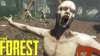 The Forest Gameplay Walkthrough Part 1 // Open World Horror Survival Game