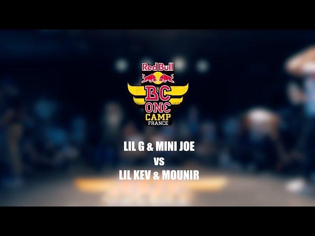 Lil G & Mini Joe vs Lil Kev & Mounir – Red Bull BC One Camp France 2016 – 2 vs 2