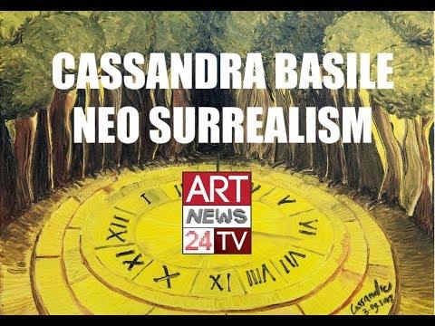 SURREALISTIC PAINTERS : Cassandra Basile NeoSurrealism