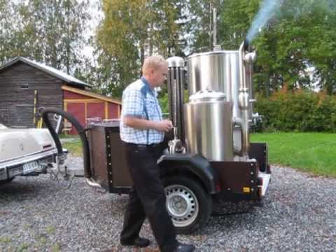 Ekomobiili Wood Gas Generator Youtube