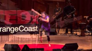 I could never be alone with Jazz music: JazzXchange at TEDxOrangeCoast
