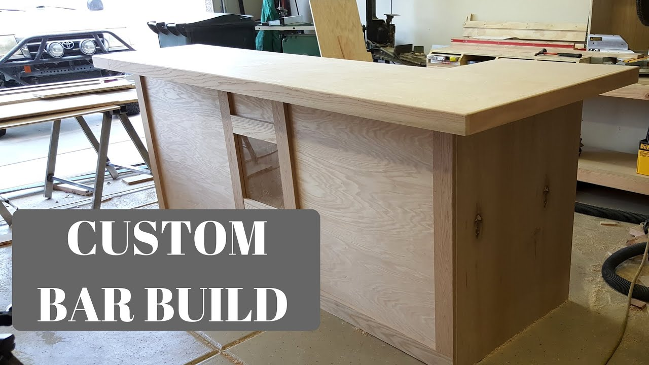 CUSTOM BAR BUILD - YouTube