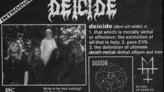 Deicide-Crucifixation
