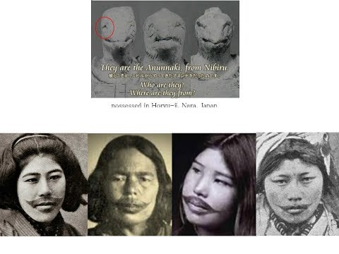 2309(1)Ainu, Mysterious People in Japan謎の民族・アイヌ・謎のイレズミbyはやし浩司Hiroshi Hayashi, Japan
