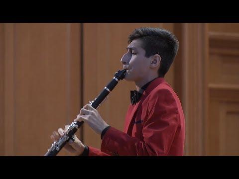 Эрик Мирзоян (кларнет) - В.А. Моцарт - Концерт для кларнета с оркестром ля мажор, 1 часть