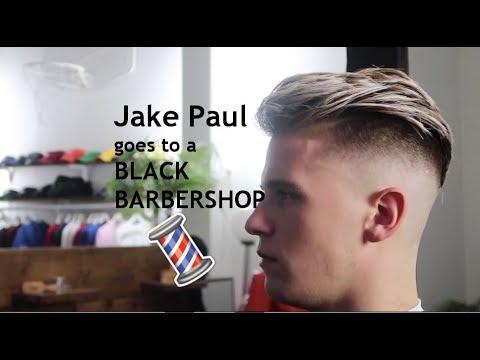 Jake Paul S Haircut At A Black Barbershop Youtube