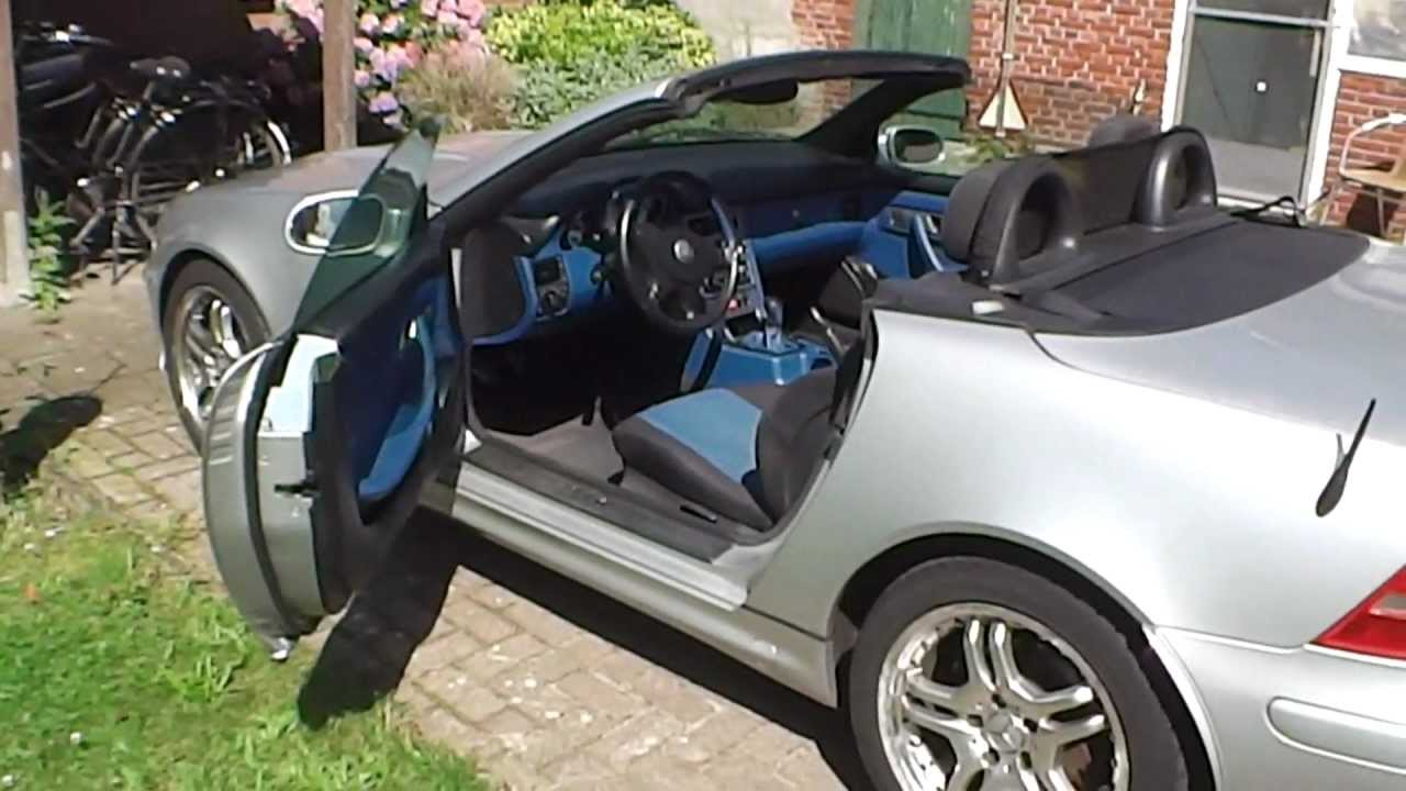 mercedes slk 200 kompressor r170 se youtube. Black Bedroom Furniture Sets. Home Design Ideas