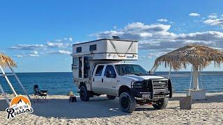 BEACH CAMPING IN BĄJA CALIFORNIA, MEXICO | Overland Truck Camper