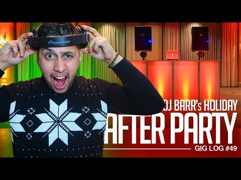 DJ GIG LOG: The Holiday After Party (7 Gigs 1 Video) | Mixing Up-Beat Party Music