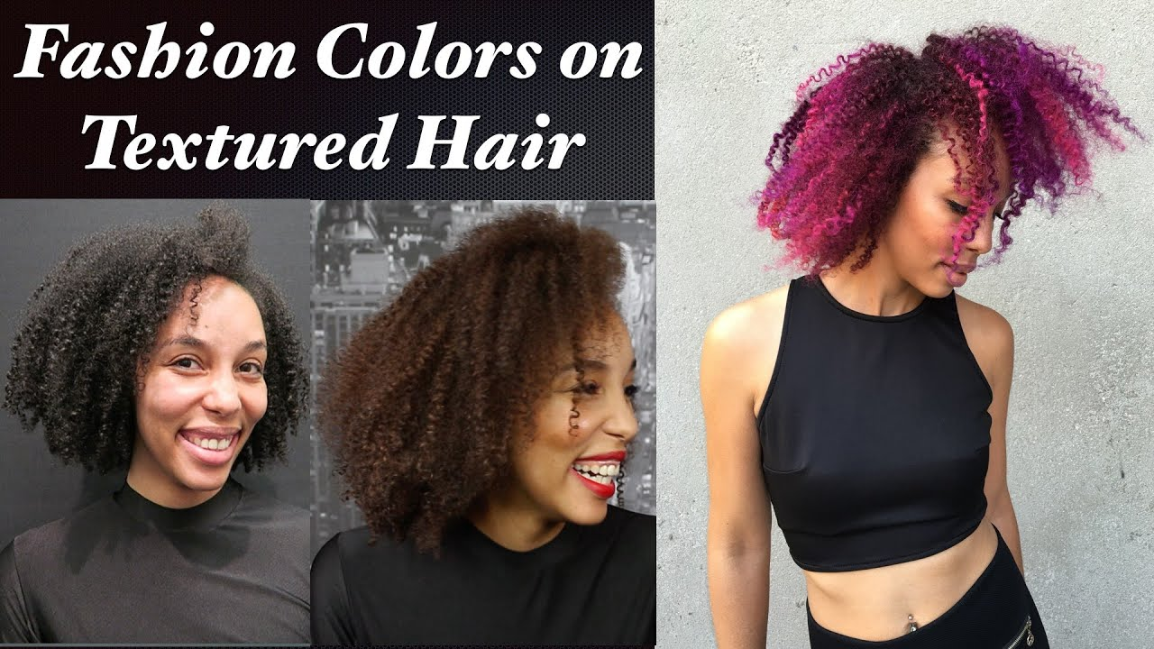 Fashion colors on textured hair youtube urmus Image collections