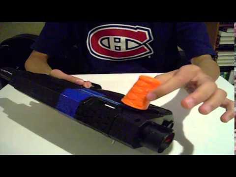 Mod Nerf Elite Retaliator Modification Bolt Action Mod Youtube