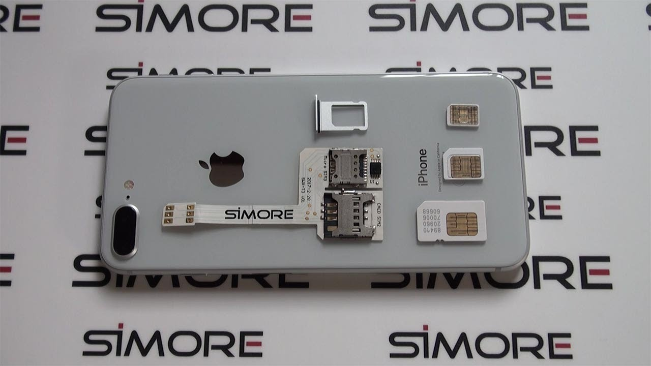 separation shoes 8147d c30e6 iPhone 8 Plus Triple SIM - Use 3 numbers on the iPhone 8 or 8 Plus with  SIMore WX-Triple 8 Plus