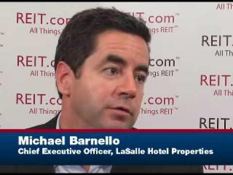 CEO Spotlight: Michael Barnello, LaSalle Hotel Pro...
