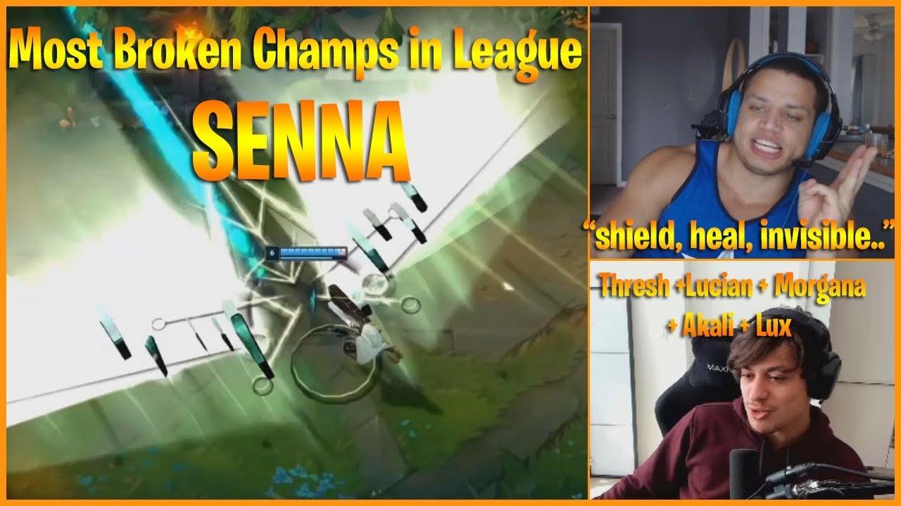 SENNA FULL OYNANIŞ : BU NASIL DESTEK ? | LoL Senna PBE Oynanış