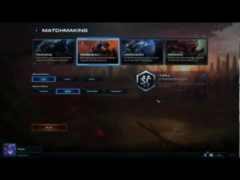 matchmaking starcraft