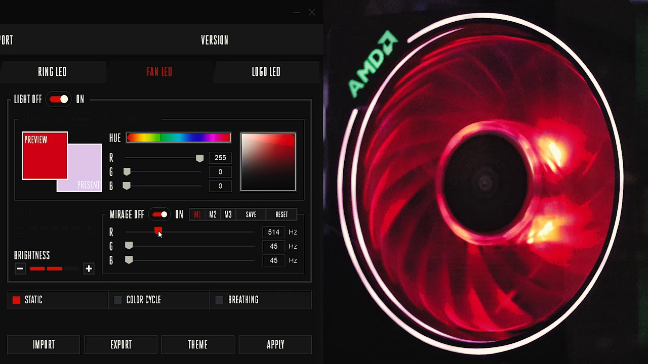 Wraith Prism Mirage Effect Tutorial Coolest Stock Cooler Ever Youtube