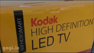 Kodak 50 inch smart LED FHD TV review in 5 minutes