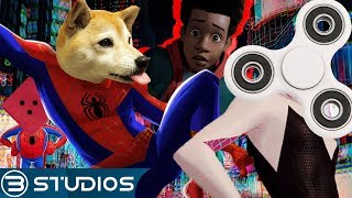 NEW CHARACTERS in Spider-Man Into the Spider Verse 2! | Spider Verse 2 #SpiderVerse | B Studios