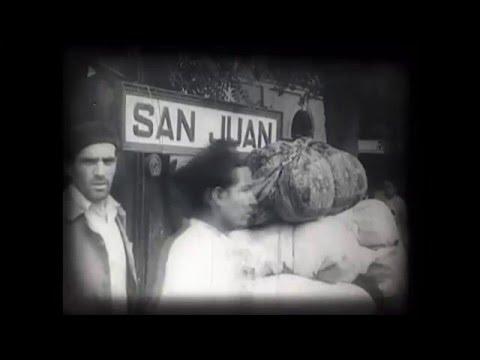 El terremoto de San Juan de 1944 ( Escenas en color)