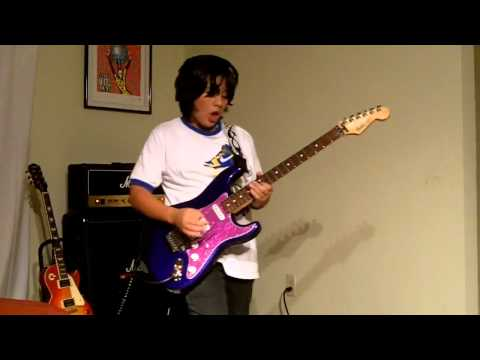Voodoo Child - Jimi Hendrix tribute by Stefanos Alexiou