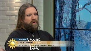 Gaytenoren Rickard Söderberg: Då blir man jätteledsen såklart... - Nyhetsmorgon (TV4)