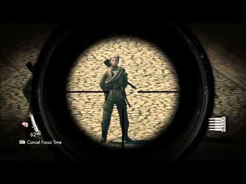 Sniper Elite V2 Headshots e Tiro no Testiculo
