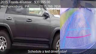 2015 Toyota 4Runner Trail 4x4 4dr SUV for sale in Mechanicsb