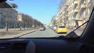 Урок автовождения на автомате с инструктором по вождению