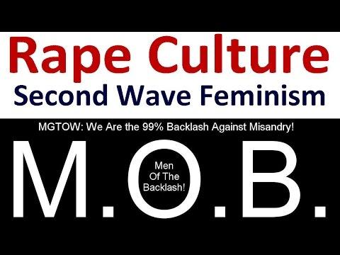 Second Wave Feminist Rape Culture - Anti-feminist