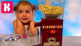 Арахисовая паста мейкер делаем сами сладкое масло из орехов Peanut Butter maker set