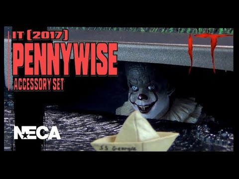 NECA IT Pennywise Accessory Set Review