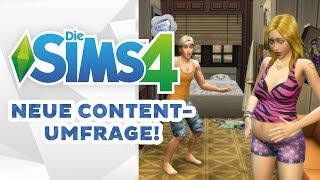 Neue Content-Umfrage zu Die Sims 4! | Short-News | sims-blog.de