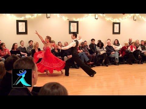 Tango Show Dance At Ultimate Ballroom Dance Studio In Memphis