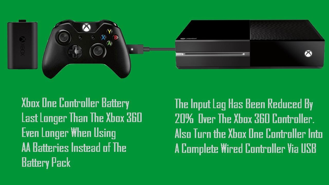 Xbox One News: Controller Battery Last Longer & Button Lag Reduced