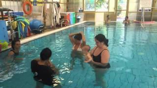 Урок плавания для 8 мес.Малышей