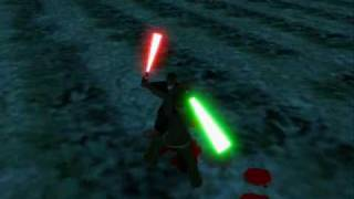 Gta san andreas Star wars Lightsabers (2 million!!!)